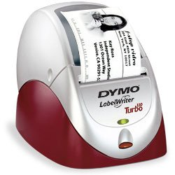 Dymo LabelWriter Turbo, a printer acquired by Lostisland Post.