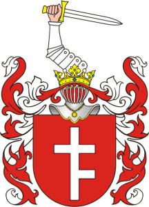 Coat of Arms of the Andrziewski family.