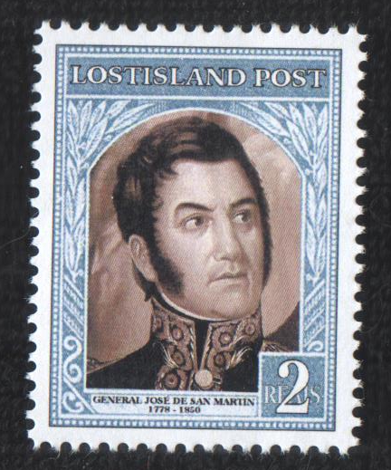 San Martin Stamp