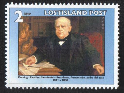 Sarmiento Stamp