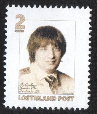 Yaroslav Mar Stamp